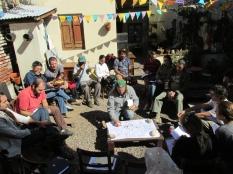 Primer encuentro del ciclo anterior del taller en Casona Dadá.