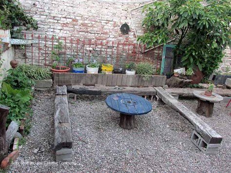 casona dada cantero con palets garden makeover 56 - small x