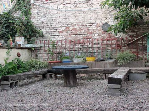 casona dada cantero con palets garden makeover 58 - small x