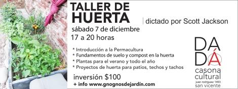 TALLER DE HUERTA 3