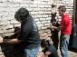 El taller de Eco-Construcción Urbana en Casona Dadá