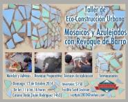 taller de eco-construccion urbana mandalas y azulejados xx