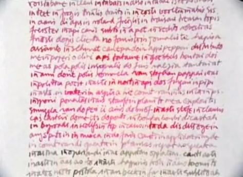 """Un tratado manual escrito en un nuevo """"Idioma VUE""""."""